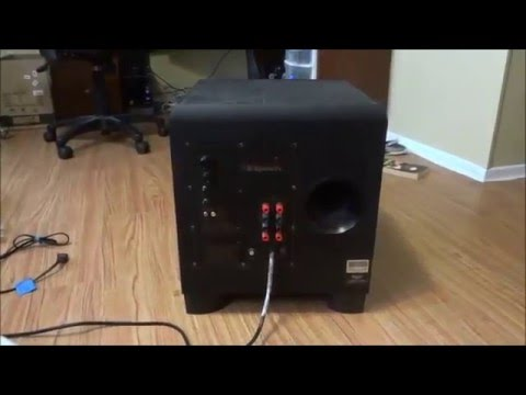 Klipsch Reference II Speaker System + Denon AVR 4520ci, Emotiva XPA Amps from YouTube · Duration:  5 minutes 52 seconds