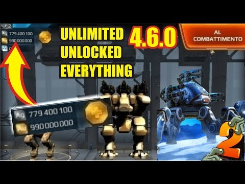 War Robots MOD APK 4.6.0 for Android Unlimited Unlocked Everything 1