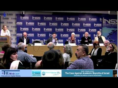 Panel Discussion \u0026 Q\u0026A: The Case Against Academic Boycotts Of Israel