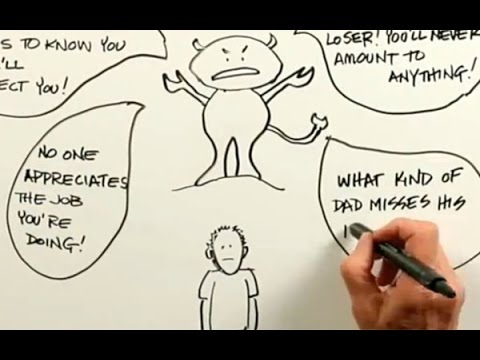 The Critical Inner Voice - Whiteboard Animation