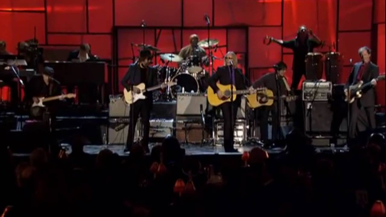 While My Guitar Gently Weeps Prince Tom Petty Steve Winwood