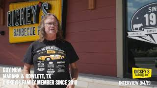 Testimonial Guy New - Owner Testimonial - Dickey's Barbecue Pit