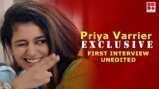 PRIYA PRAKASH VARRIER 'EXCLUSIVE' FIRST INTERVIEW UNEDITED_Reporter Live