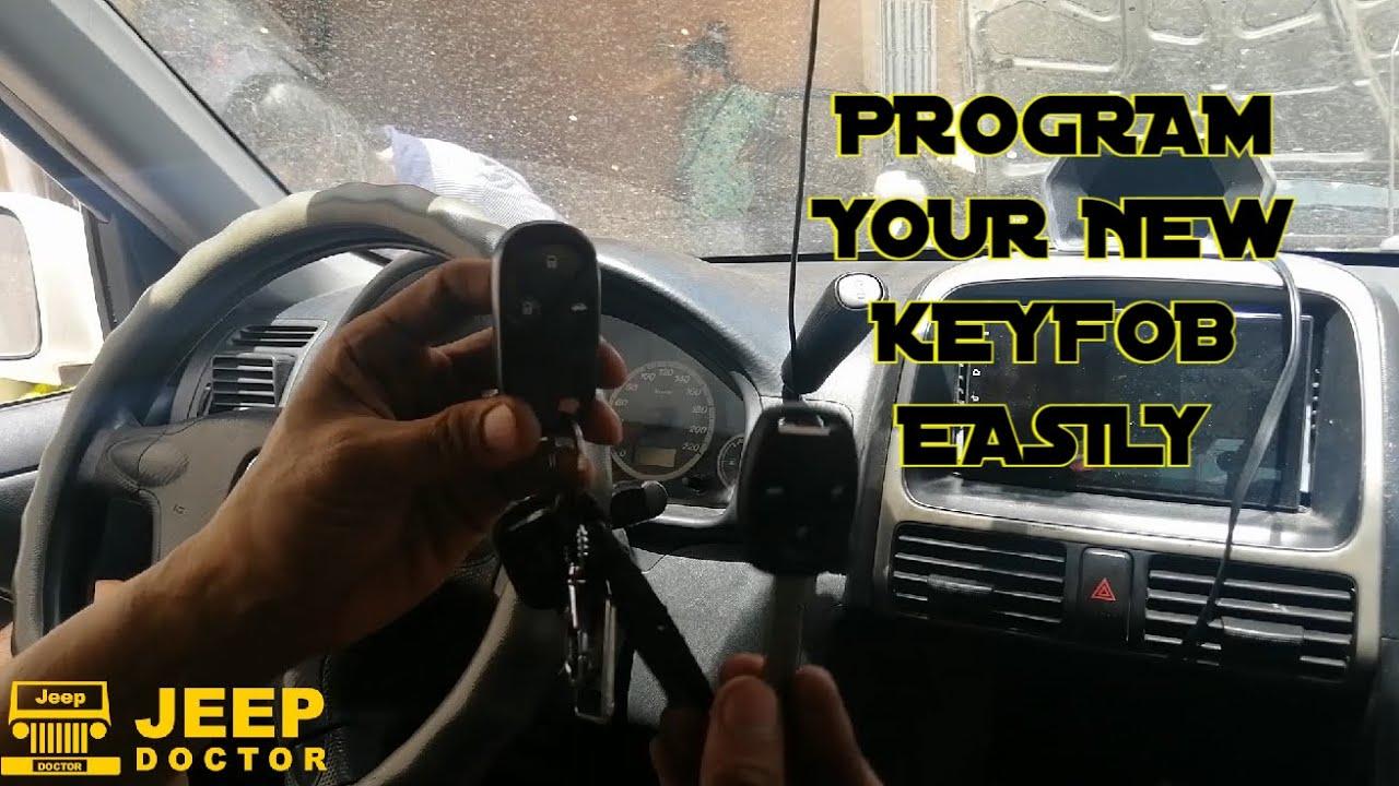 How to PROGRAM NEW KEYFOB - Keyless entry reprogram