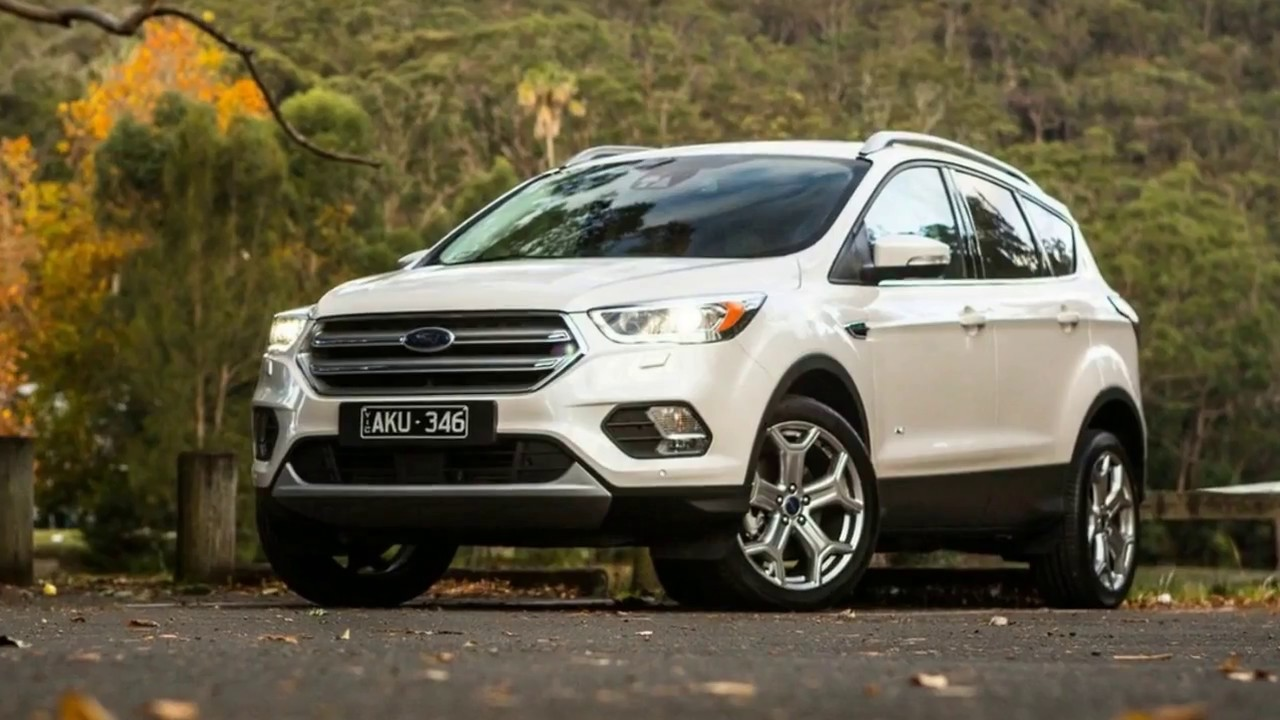 Ford Escape Titanium >> WATCH NOW!! NEW 2018 Ford Escape 2.0L Titanium FULL REVIEW ...