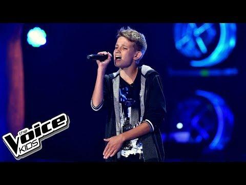 """Remek Janicki – """"Płoną góry, płoną lasy"""" – Przesłuchania w ciemno – The Voice Kids Poland"""