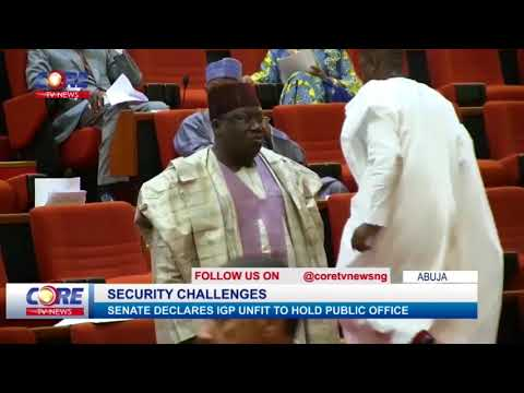 SENATE DECLARES IGP UNFIT TO HOLD PUBLIC OFFICE...watch & share..!