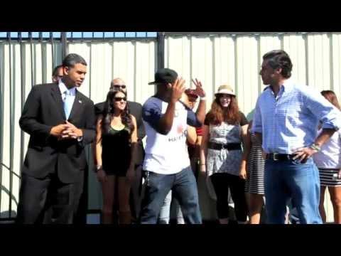 Baracka Flacka Flames 2012 Presidential Debate Rap Battles (ROUND 1)