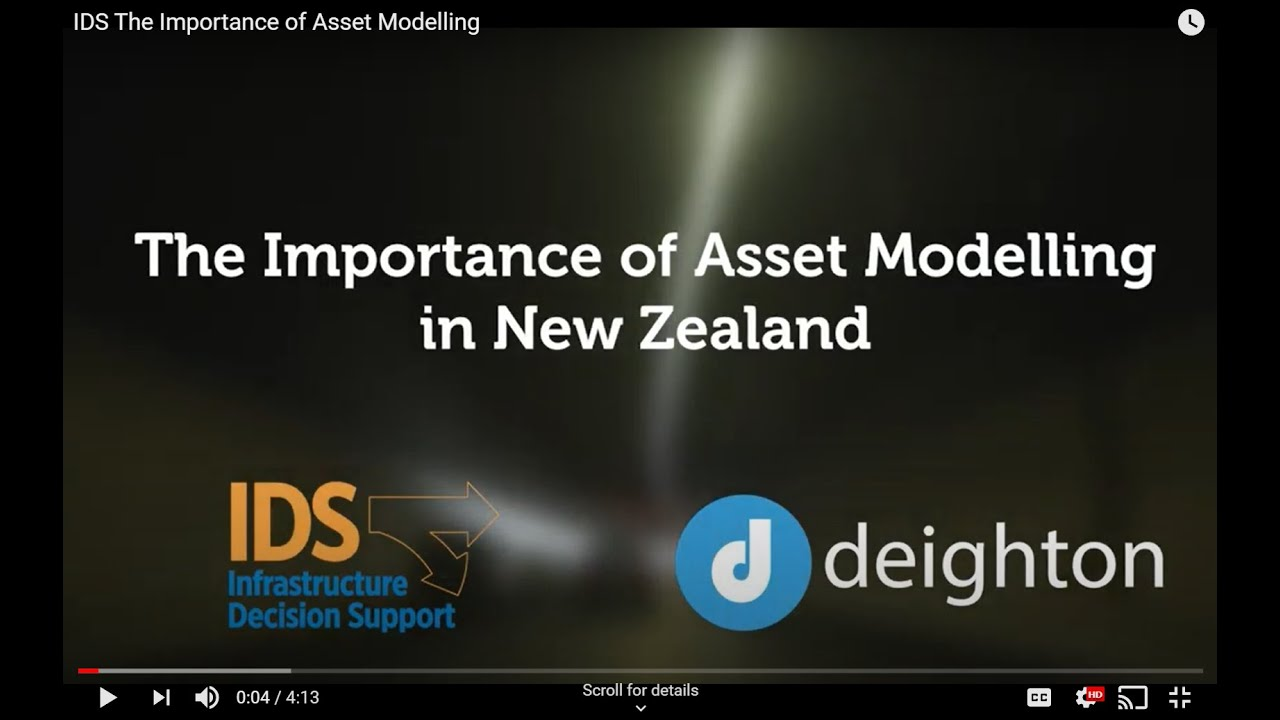 IDS The Importance of Asset Modelling