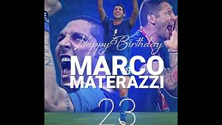 Happy Birthday, Marco Materazzi!