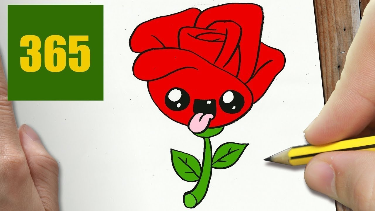 Come Disegnare Fiore Passo Dopo Passo Disegni Facile