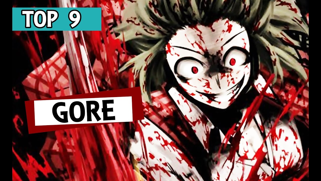 9 mejores animes gore youtube for Imagenes de anime gore