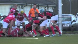 ARU - Army A vs British Army (Germany) Highlights 13-1-14