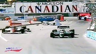 Race-track worker fatal accident at 1990 CART Vancouver