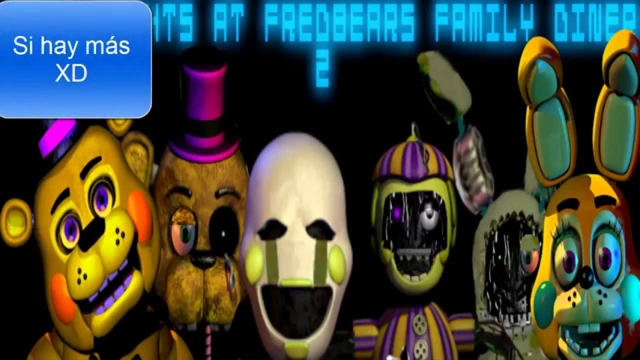 tutorial de como descargar five nights at fredbear s family diner 2