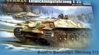 FULL VIDEO BUILD E-25 Panzerjäger E-Serien by Trumpeter