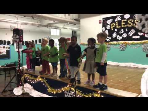 PreK Champ Campers Sing Jingle Bells