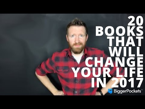 Twenty Books That Will Change Your Life in 2017 (From FB Live on 01/02/2017)