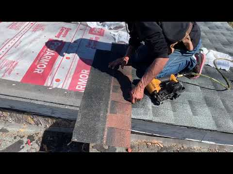 How to install a starter strip on your shingle roof