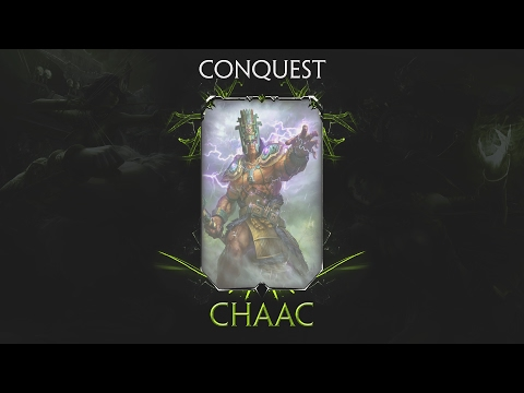 SMITE Season 4 Conquest - Chaac Solo | HEALTH BUILD OP (1080p 60fps)