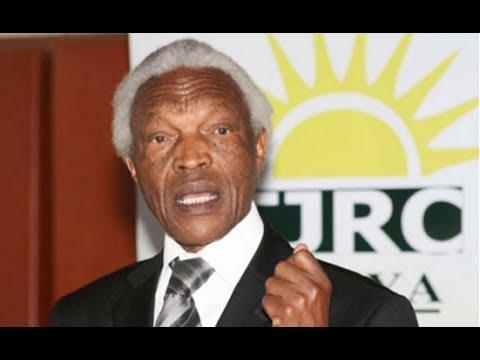 Former TJRC chairman Bethwel Kiplagat dies at a Nairobi hospital after a long illness