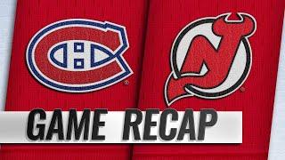 Zacha scores twice as Devils beat Canadiens, 5-2