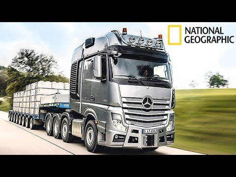 Mercedes Trucks - Megastructures National Geographic Documentary 2017