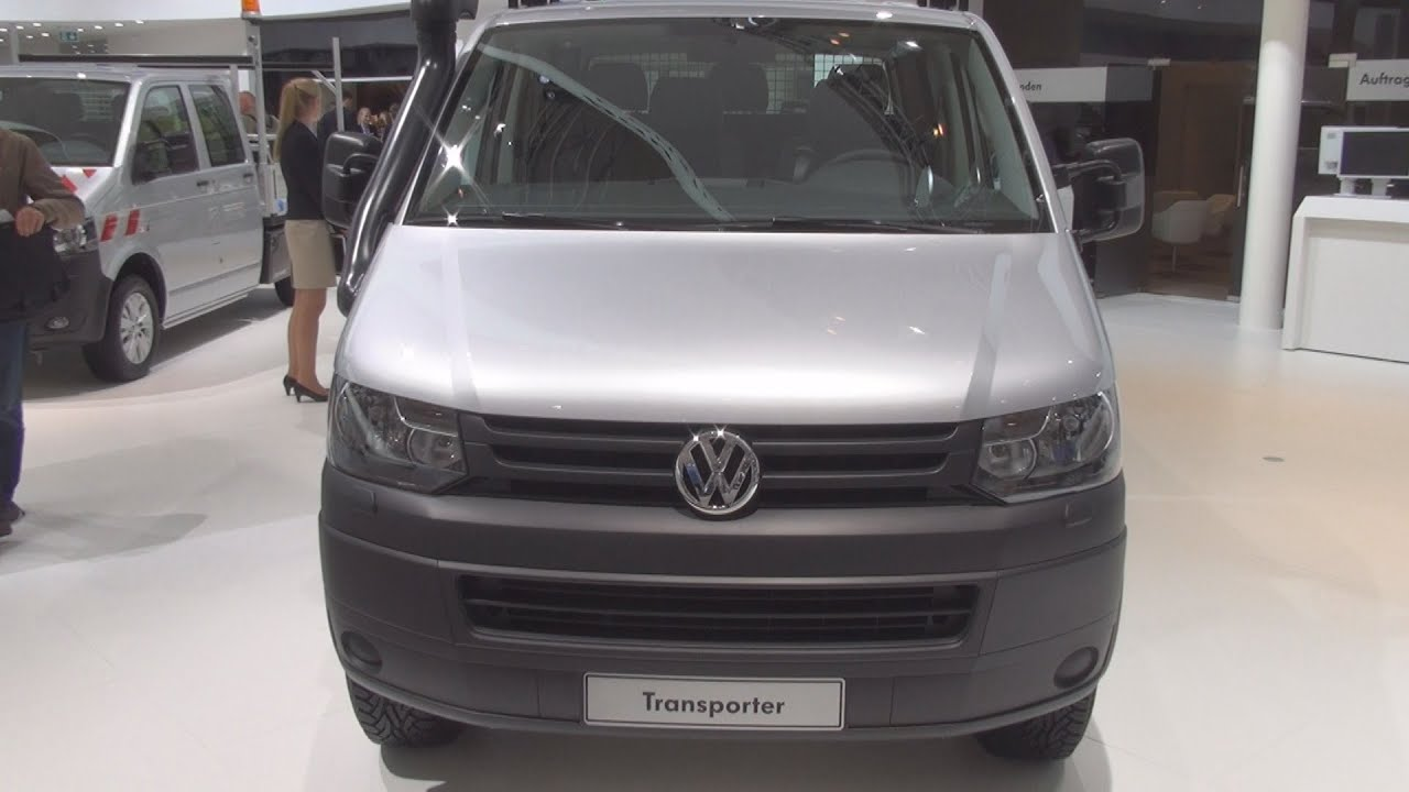 Volkswagen Transporter T5 Tipper Double Cab Exterior and Interior ...