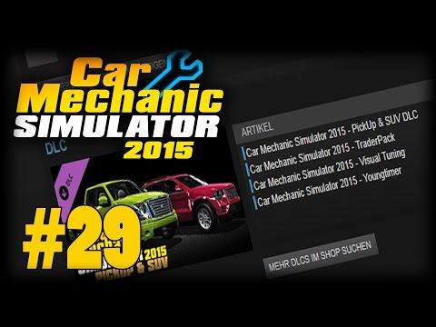 NEUE DLC'S! DANKE! - Car Mechanic Simulator 2015 #29 |