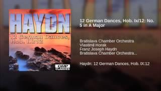 12 German Dances, Hob. Ix/12: No. 5 in A Major