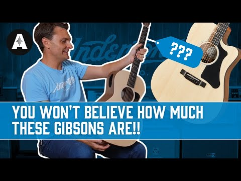 NEW Gibson Generation Collection - Gibson's Most Affordable Acoustic Guitars!