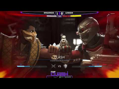 Injustice 2- THE CLASH - FT. WhiteBoi, ElvoFox,TitaniumTigerzz, Grr, Kombat