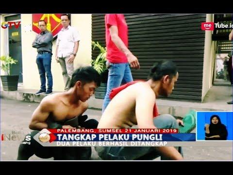 Aksi Tembakan Polisi Warnai Penangkapan 2 Pelaku Pungli di Palembang - BIS 21/01