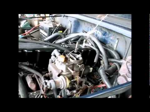 1983 Jeep CJ7 carb exploration - YouTube