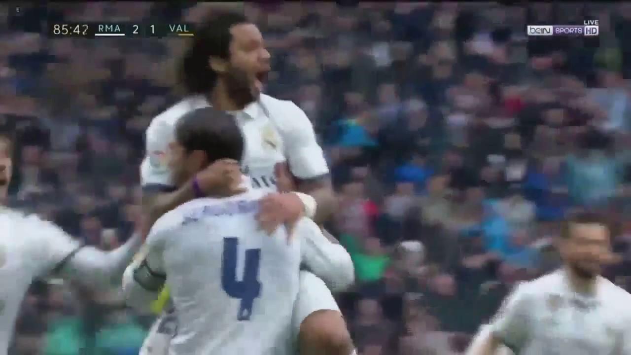 Download Marcelo Goal   Real Madrid vs Valencia 2 1   April 2017