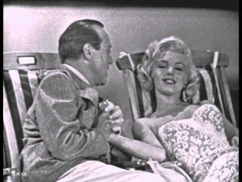 Marilyn Monroe On The Jack Benny Show 1953 - Rare Television Appearance