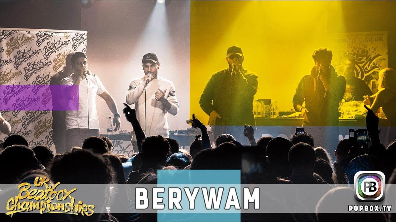 Berywam - Listen To The Sound   Live at 2017 UK Beatbox Championships