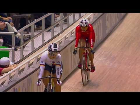 Womens Sprint Final -  2014 UCI Track Worlds