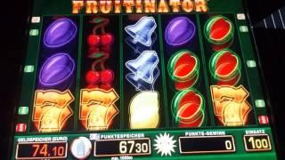 Fruitinator auf bis zu 1 Euro Merkur Magie Bally Wulff Spielhalle