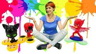 Детский сад КАПУКИ КАНУКИ. Видео для детей: Маша #Капуки и #игрушки из мультика Леди БАГ и Супер Кот