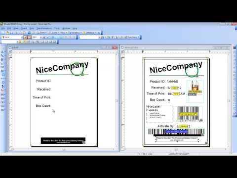 NiceLabel Pro - Label Design Training Video