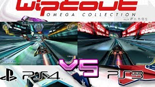 WipEout Omega Collection Vs WipEout HD Fury - (PS4/PS3) - Anulpha Pass