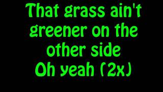 Chris Brown - Grass Ain't Greener (Lyrics On Screen)