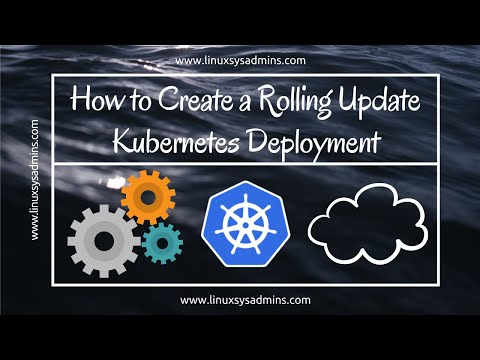 Create a Rolling Update Kubernetes Deployment | Kubernetes Deployment