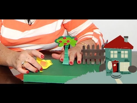 Granja de papel manualidades f ciles parte 1 youtube for Como hacer una granja de peces