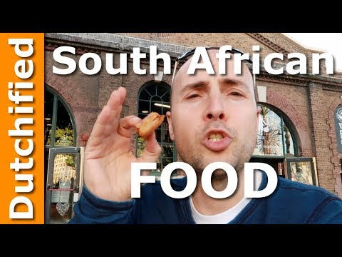 South African Street Food - Best food to try in Cape Town Food hall