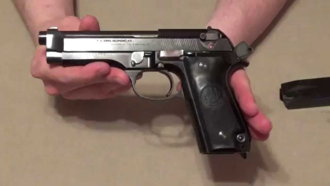 Beretta 92S Pistol Italian Police Trade In Initial Review