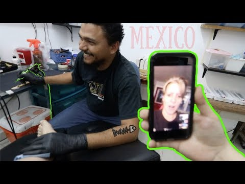 "Tattoo In MEXICO!!! ""Is This Safe?"""