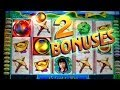 2 Bonuses on GREAT WALL - WMS Video Slots