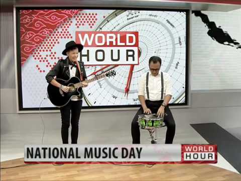 WORO & The Night Owls - Innervision (Original Song) Live on MNC World News